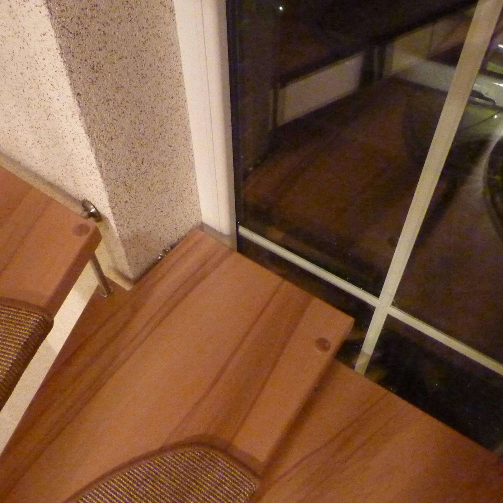 117 Stufen im Fensterlicht